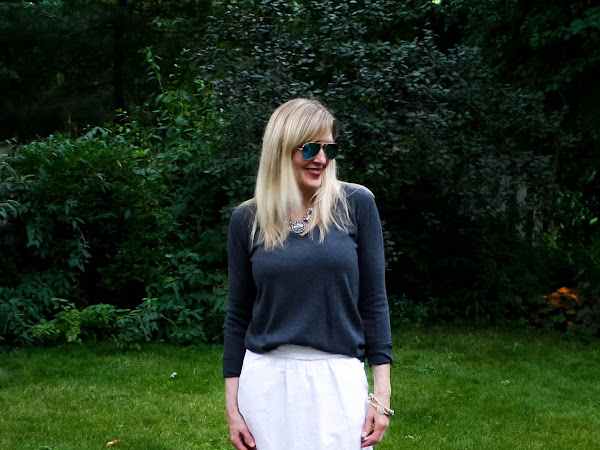 How to Make Your Summer Skirt Work for Fall