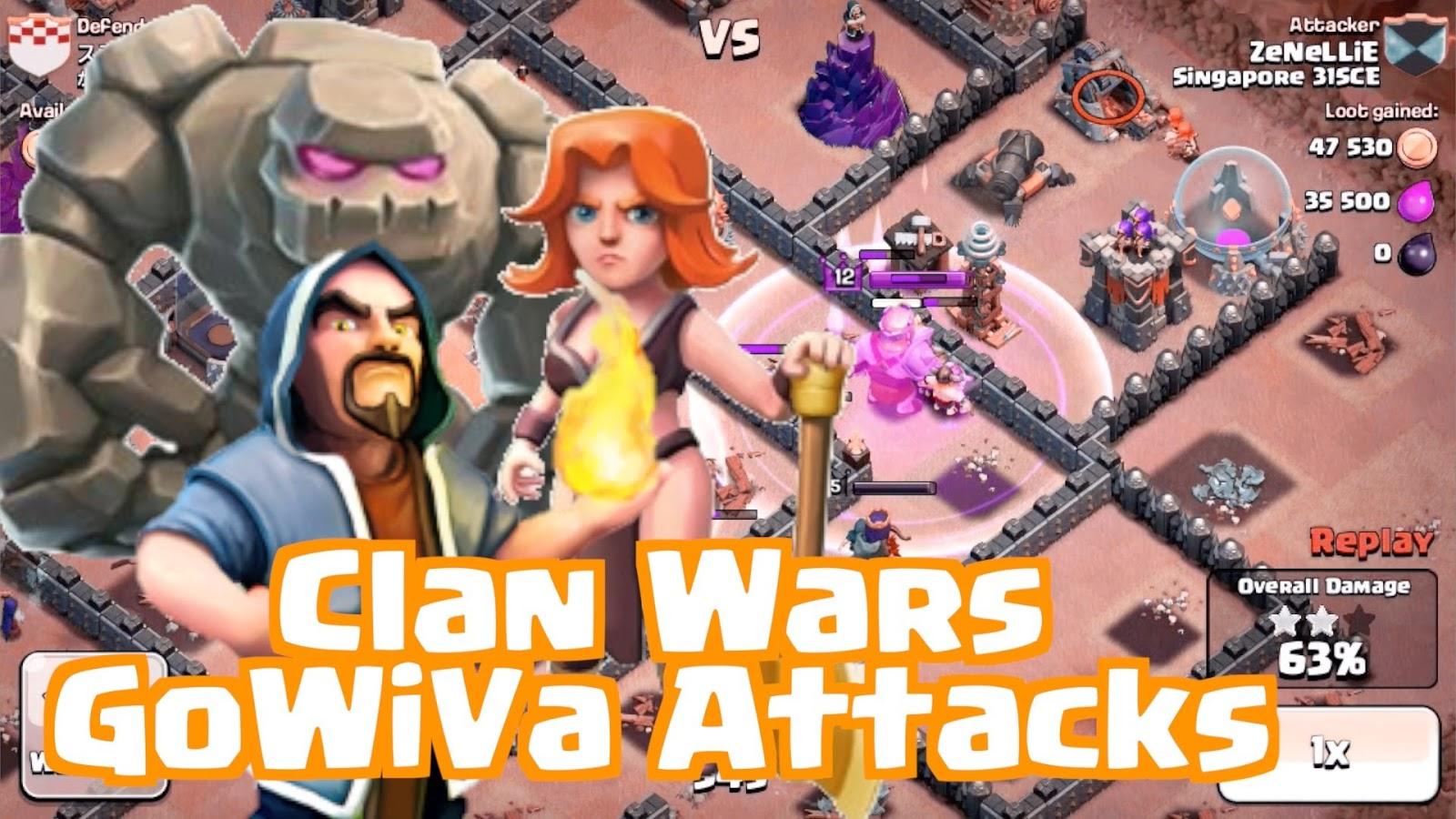Strategi Clash Of Clans TH 8 War Ahliponselcom