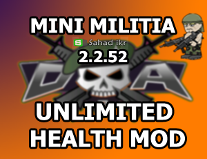 Mini Militia Unlimited Health Mod For NON ROOTED USERS [UPDATED]LATEST 2016!