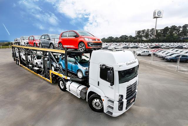 Volkswagen Up! Exportações