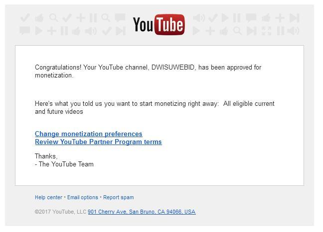 Iklan Adsense Youtube Muncul,Langkah Selanjutnya?