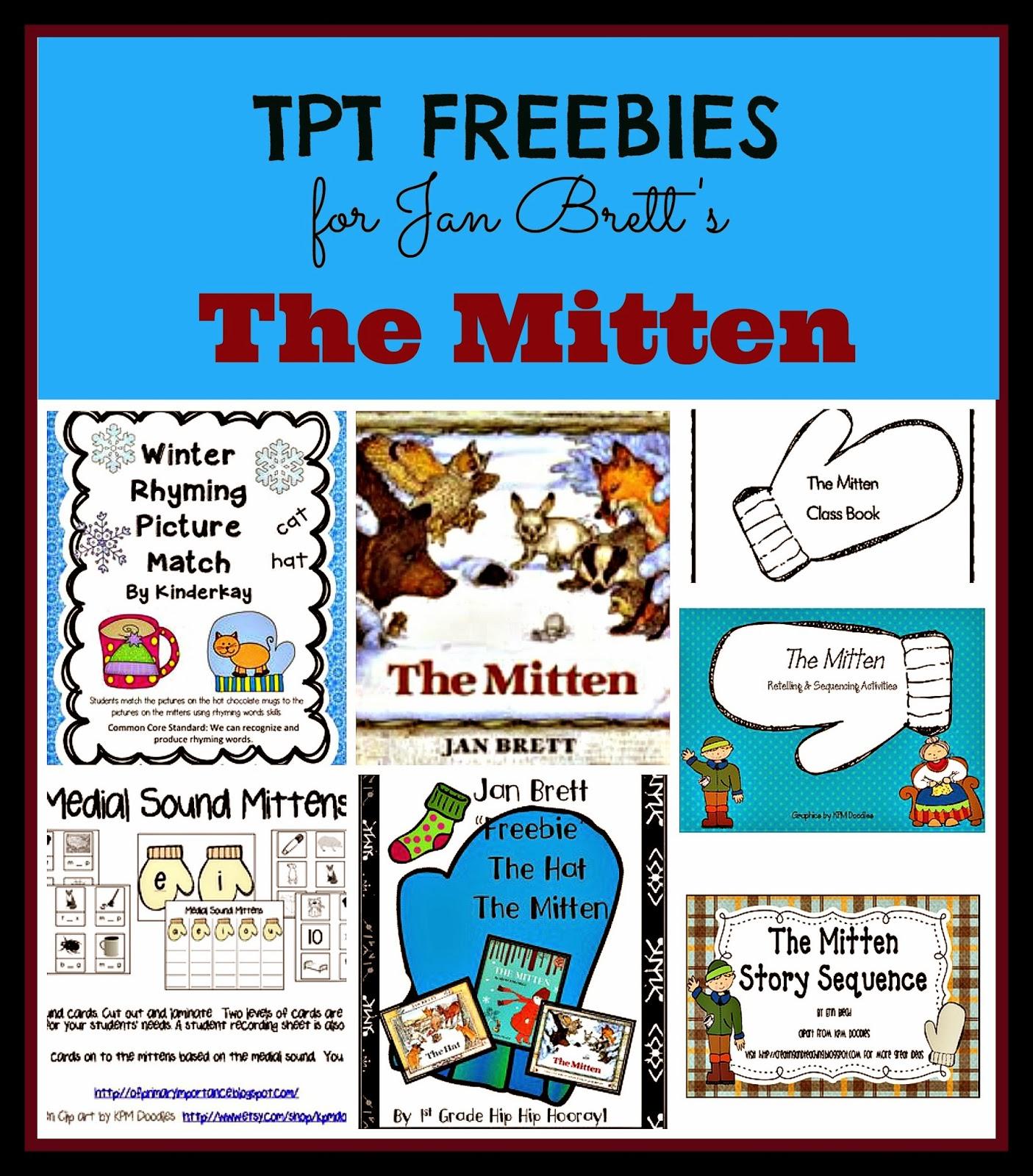 Kindergarten Holding Hands And Sticking Together The Mitten