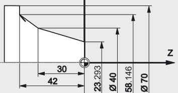 CNC Programming: [CNC Programming Examples] Fanuc G21