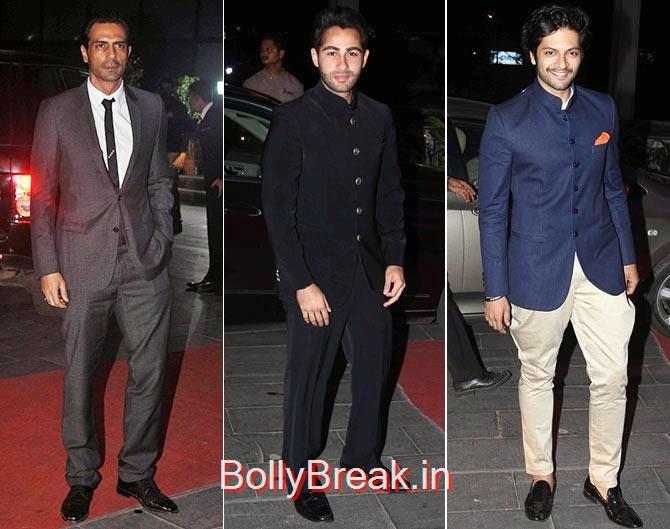 Arjun Rampal, Armaan Jain , Ali Fazal, Tulsi Kumar Wedding Reception Photo Gallery 2015
