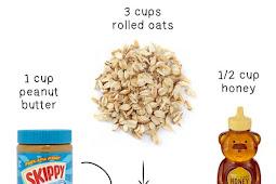 Peanut Butter Oat Squares