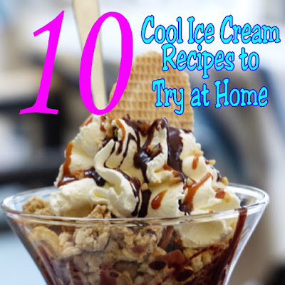 Stay cool and celebrate National Ice Cream month by making some home made ice cream in your favorite flavors.  These 10 ice cream recipes will help you celebrate in style with a sweet tooth that your family and friends will love you for.