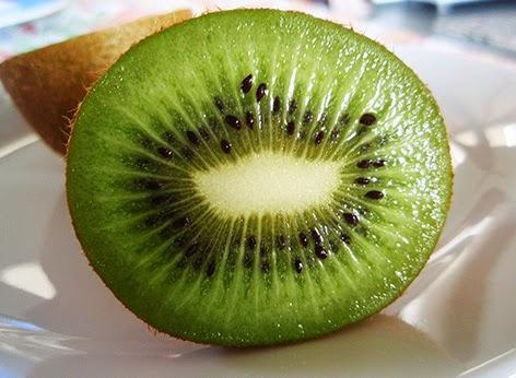 Interior del kiwi
