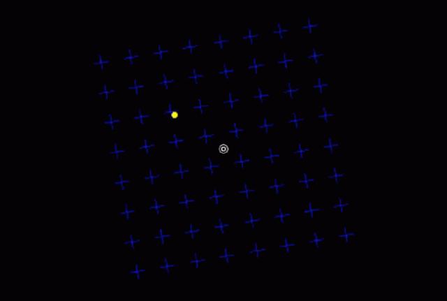 Un GIF que causa ceguera temporal. Conoce la ilusión óptica que se volvió viral en la red.