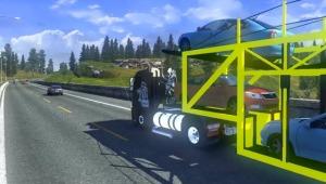 New car transporter trailer by Abdala & Goiaba