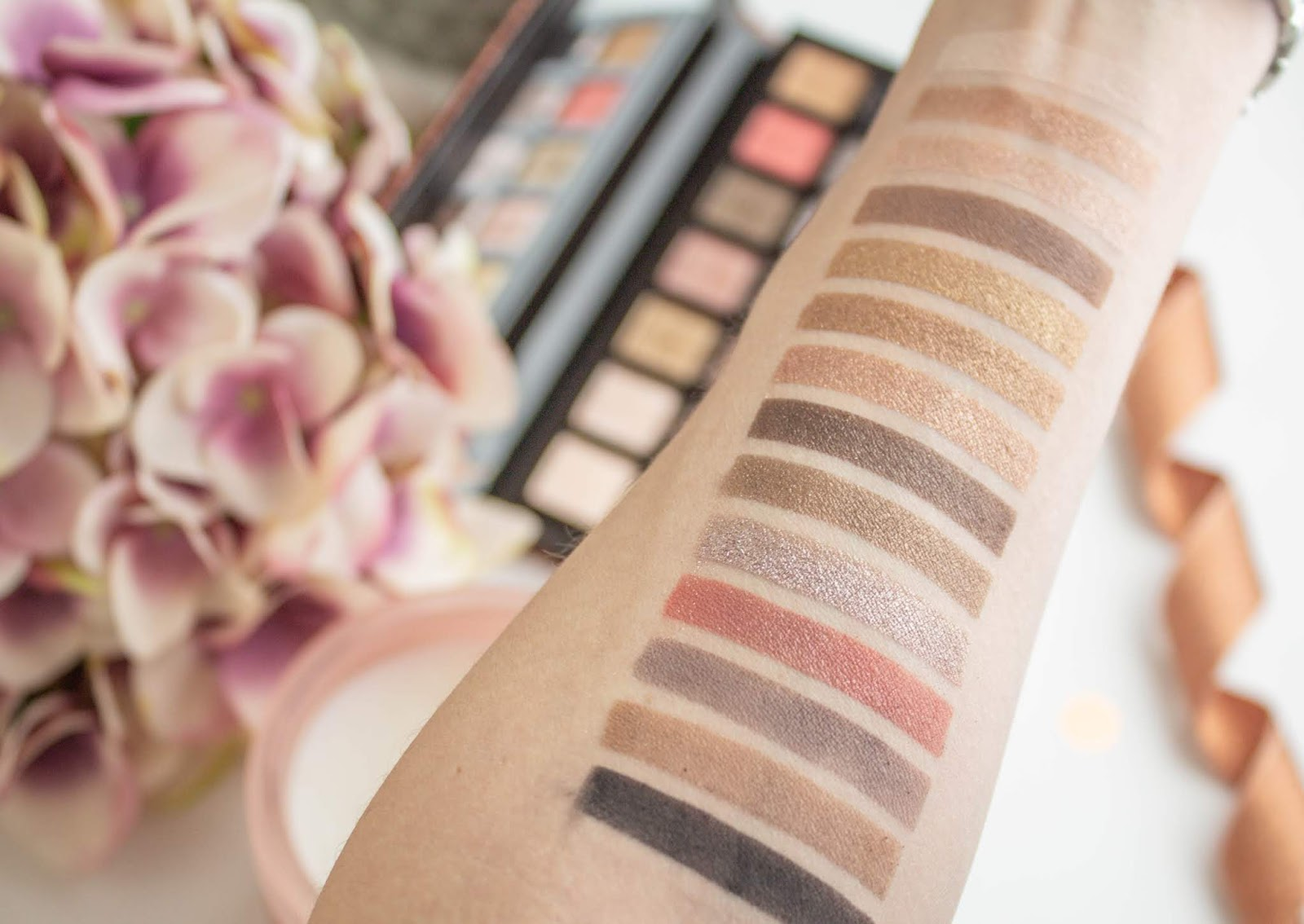 Anastasia Beverly Hills Sultry Eyeshadow Palette Swatches