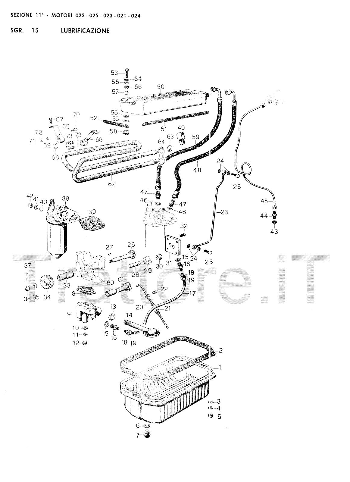 InfoTrattore.it: Manuale (esploso meccanico) Motore 022
