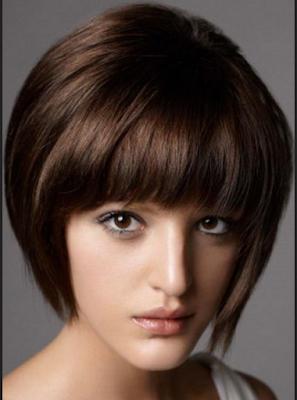 potongan rambut untuk wajah oval dan kurus