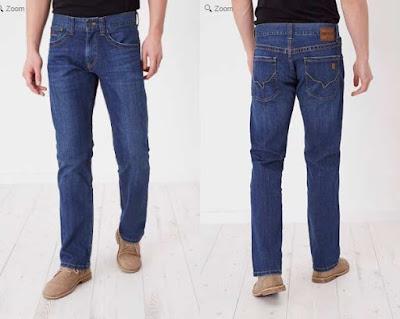 pantalones vaqueros de corte recto para chico