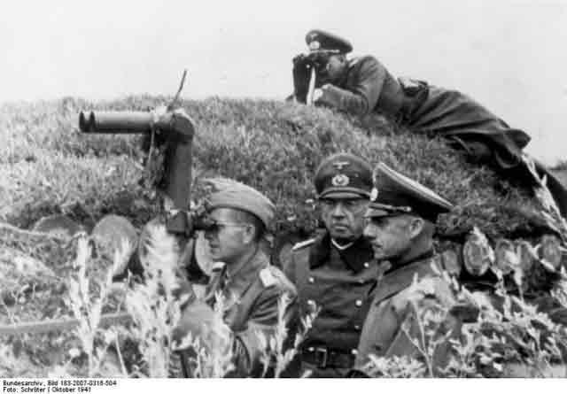 Field Marshal von Leeb 19 October 1941 worldwartwo.filminspector.com