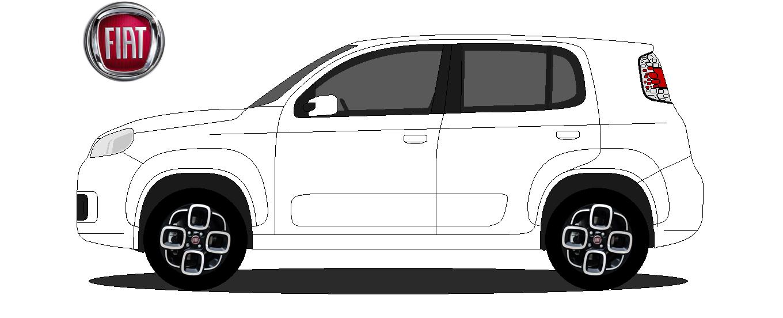 Fiat Uno 2016 Dcp Design