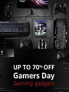 Amazon India  Offer  Get upto 70% off on Gaming Gadget