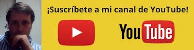 Suscribete a mi canal youtube Javier Gonzalo