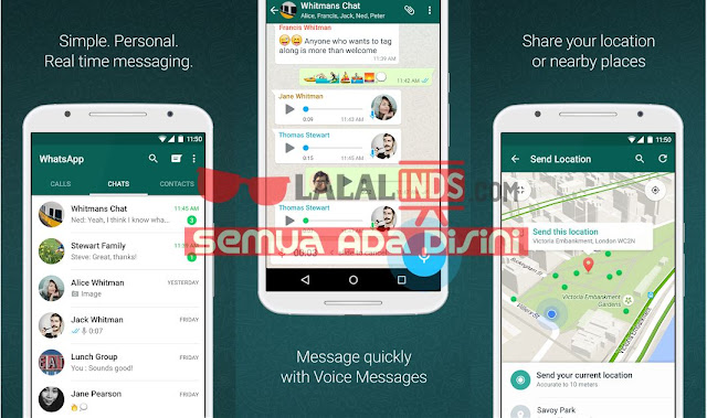 Download WhatsApp Messenger 2.18.9 APK Terbaru