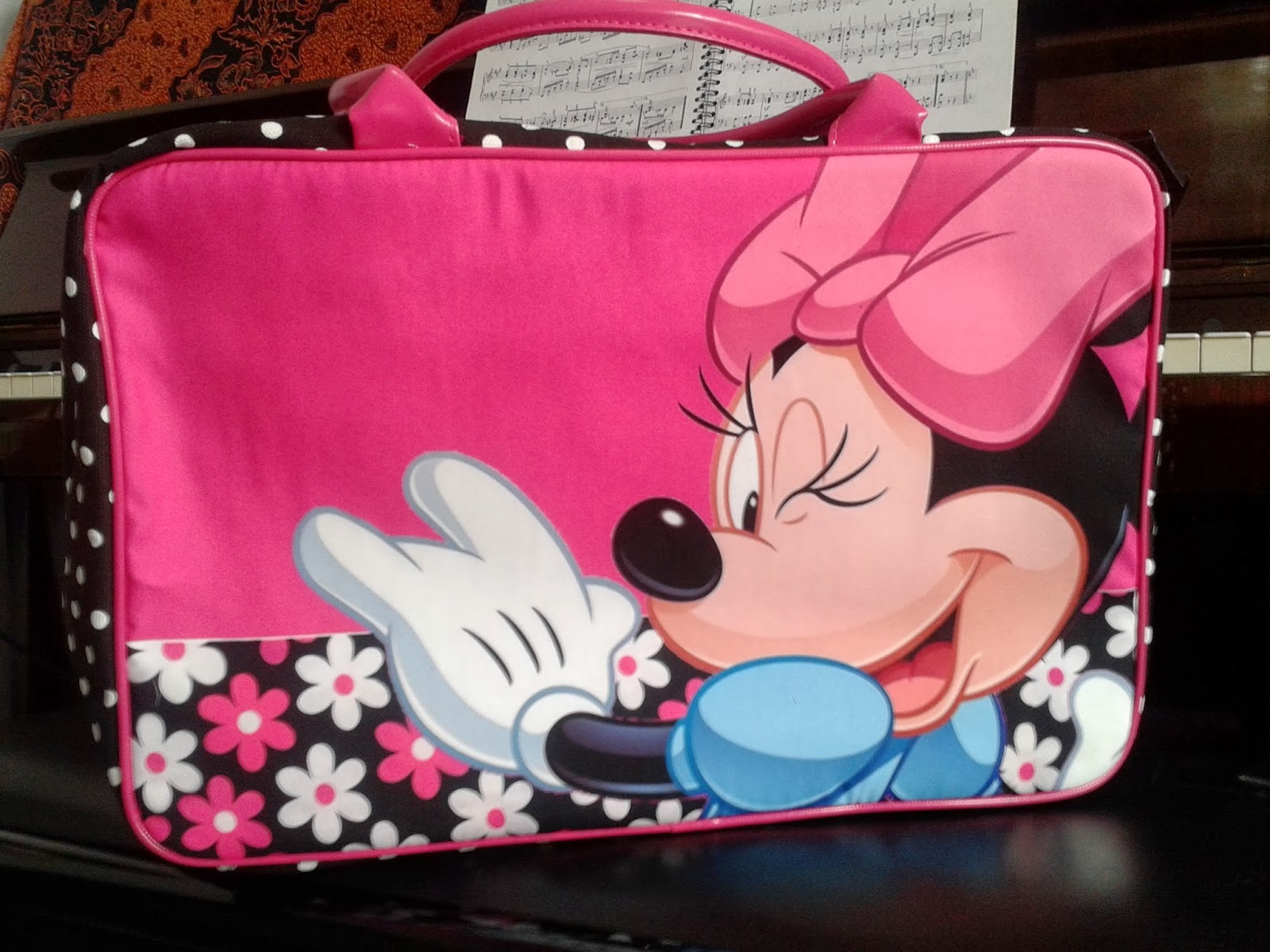 Jual Tas Travel Bag Anak Murah Minnie Mouse Grosir Tas Travel Bag