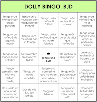DOLLY BINGO: BJD