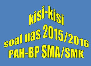 Kisi-kisi soal UAS Agama Hindu SMK Kelas X Tahun 2015 semester ganjil