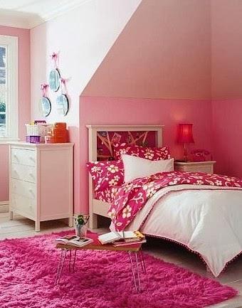 Cuartos juveniles color rosa dormitorios colores y estilos for Amueblar dormitorio juvenil pequeno