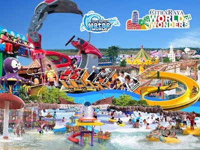 CitraRaya Water World dan World of Wonders