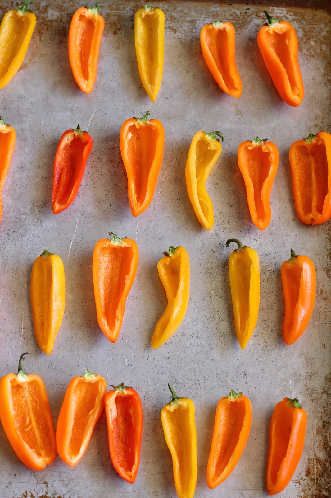 how to eat mini sweet peppers raw