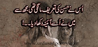 Us Ne Husan Ki Tareef Maangi Thi Mujh Se