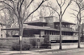 Robie House en Chicago | Frank Lloyd Wright | Prairie style | Floor plan