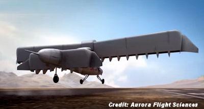 DARPA's Vertical Takeoff 'X-Plane'