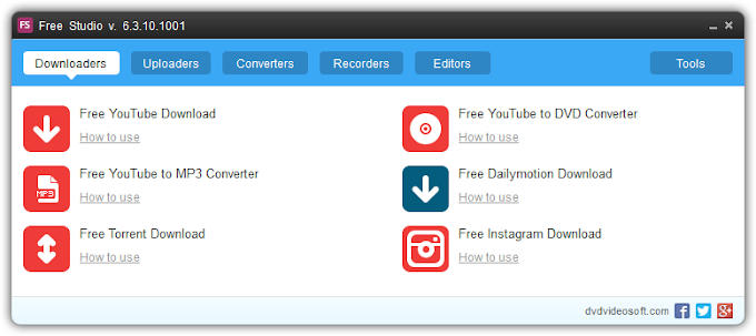 Free Studio 6.6 - Μία εγκατάσταση, 51 δωρεάν εφαρμογές
