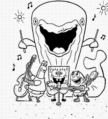 7 new spongebob halloween coloring pages for kids - Coloring Pages Spongebob Halloween