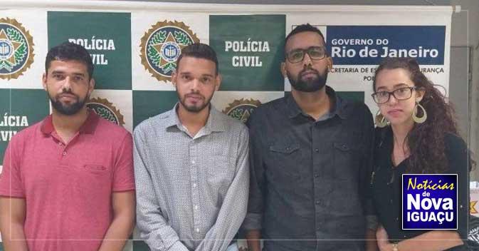 458e5b30ea2 Presa em Nova Iguaçu quadrilha que aplicava golpe de venda de casa na  internet