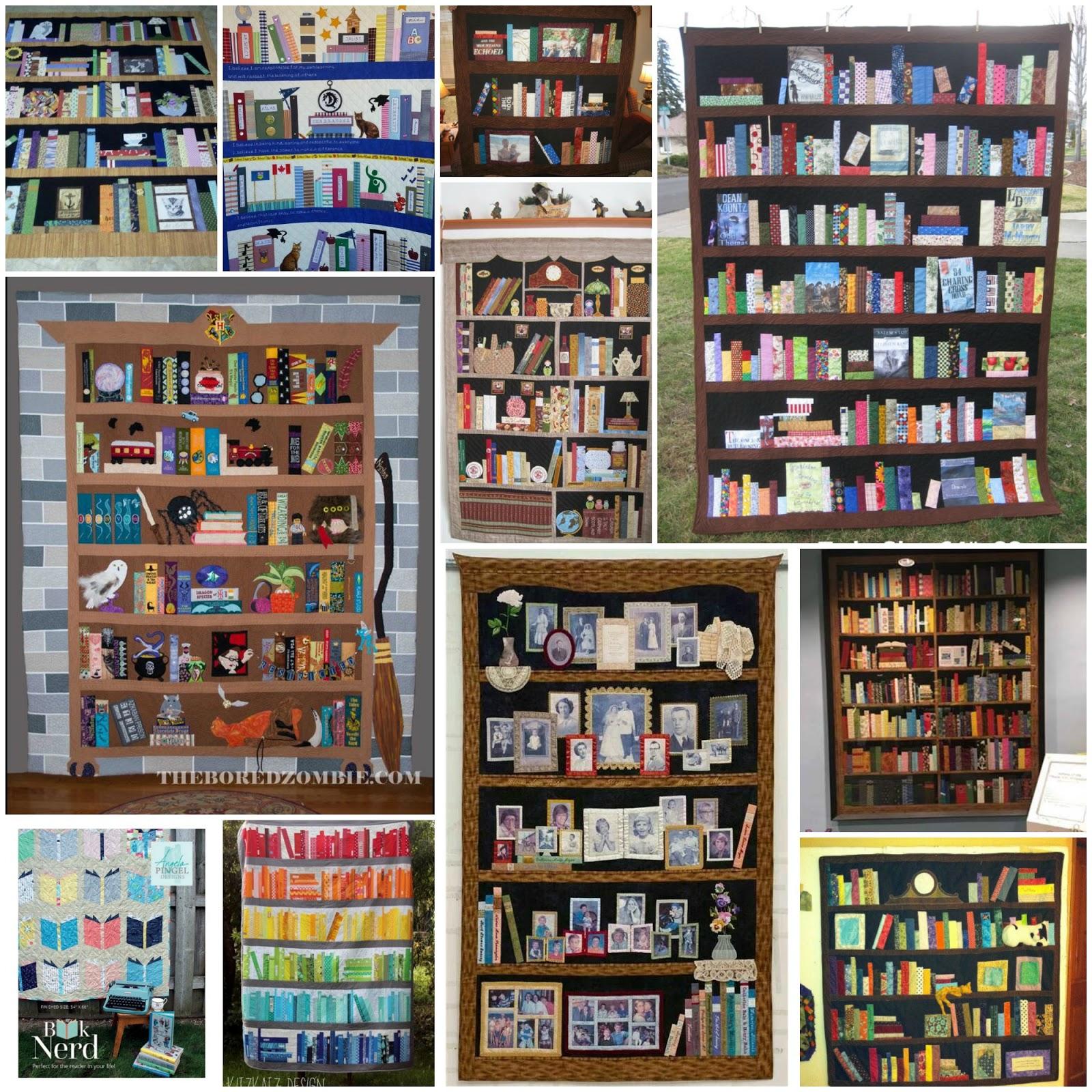 de Jong Dream House: Quilt #81: Mrs. Gentry's Library : quilt bookshelf - Adamdwight.com