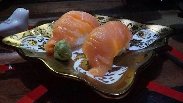 Salmon Sushi Mokuzai Cafe Pontianak