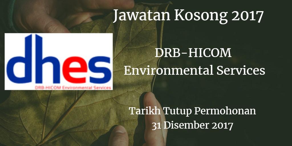 Jawatan Kosong DHES 31 Disember 2017