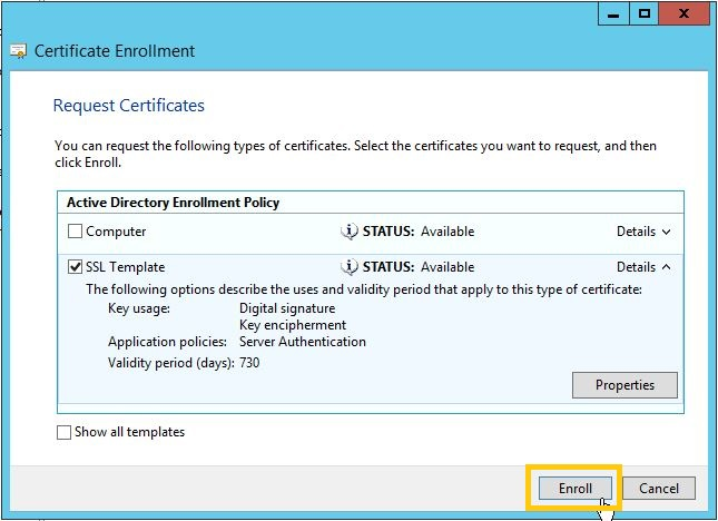 Configure HTTPS authentication to CA Server ~ Datakraf NZ