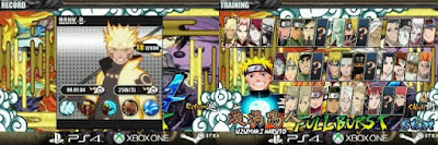 Naruto Senki Ninja Storm 4 versi 1.17 Full Burst by Ezza Apk Terbaru
