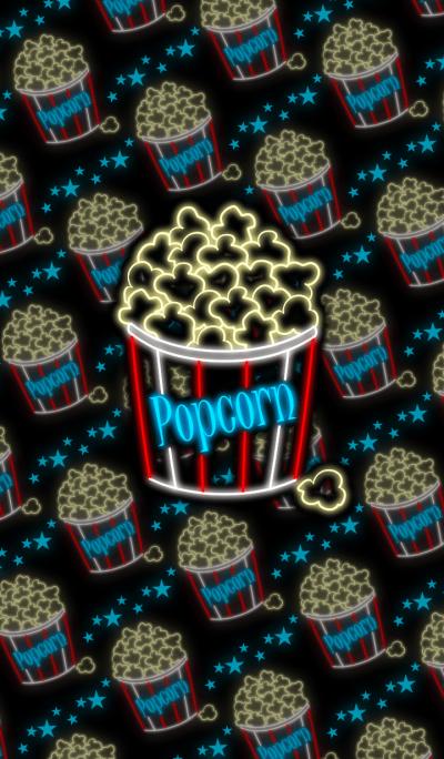 Popcorn -Neon style-