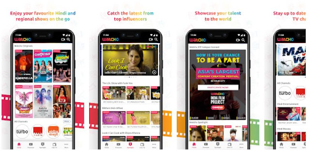 Download Watcho - Original Indian Shows, Movies & Live TV Mobile App