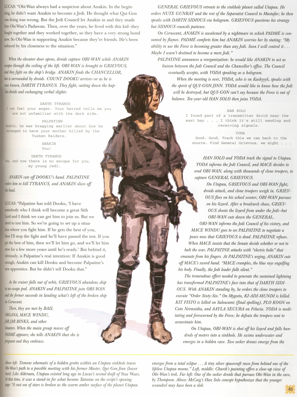 Young Han Solo Star Wars Episode Iii Revenge Of The Sith Concept Art By Iain Mccaig Rar Writes