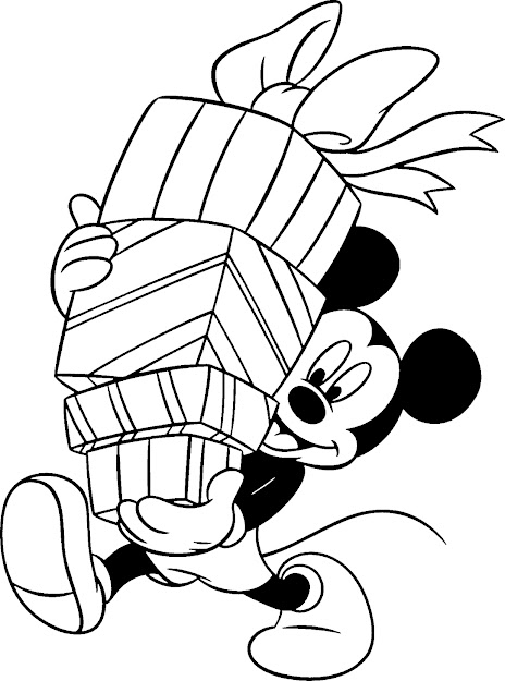 Free Printable Disney Coloring Books  Printable Free Disney Christmas Coloring  Pages