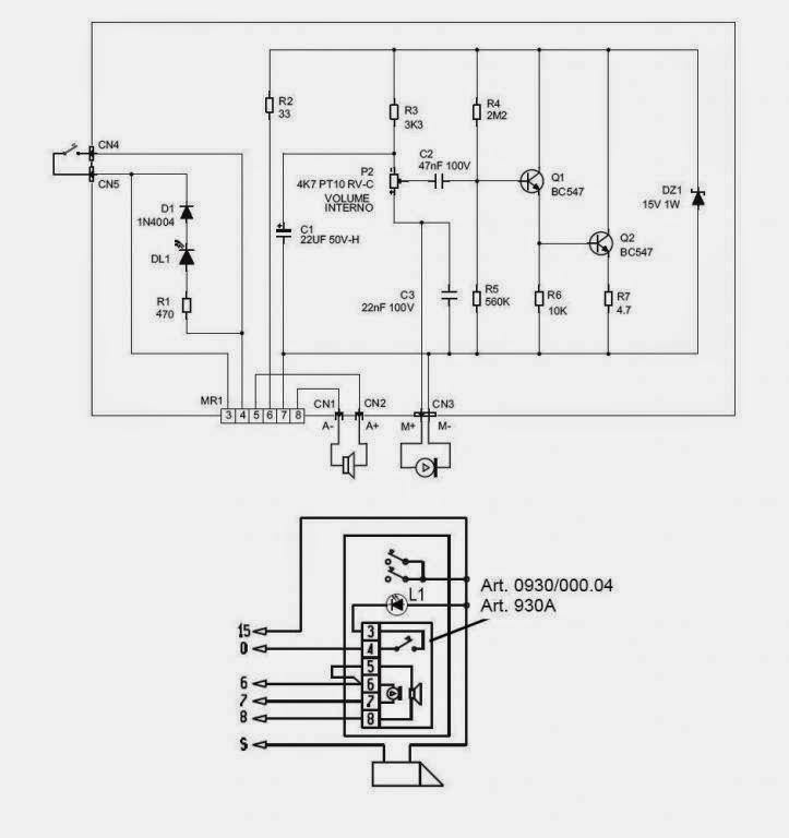 tektone intercom wiring diagram