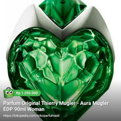 toko parfum asli parfum original thierry mugler aura mugler edp 90m woman