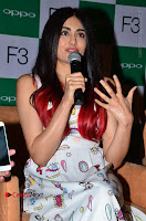 Bollywood Actress Adah Sharma Pos in White Printed Short Dress at OPPO F3 Plus Selfie Expert Mobile Launch .COM 0026.jpg