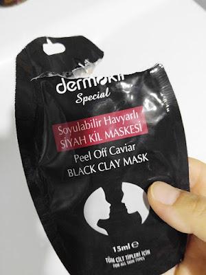 dermokil sotulabilir maske kullanımı