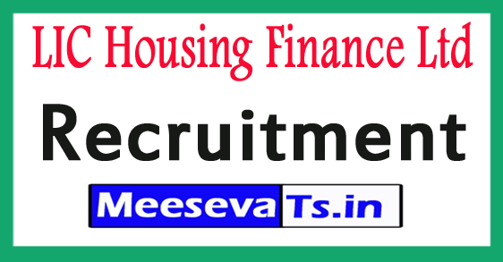 LIC Housing Finance Ltd Recruitment Notification 2017