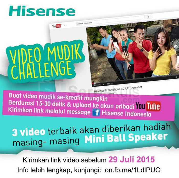 Kontes Video Mudik Berhadiah 3 Mini Ball Speaker