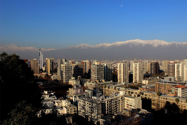 Vista Cerro de Santa Luzia, Santiago, Chile